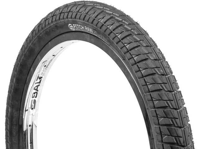 "Salt Pitch Raw Tire 20x2,25"", black"